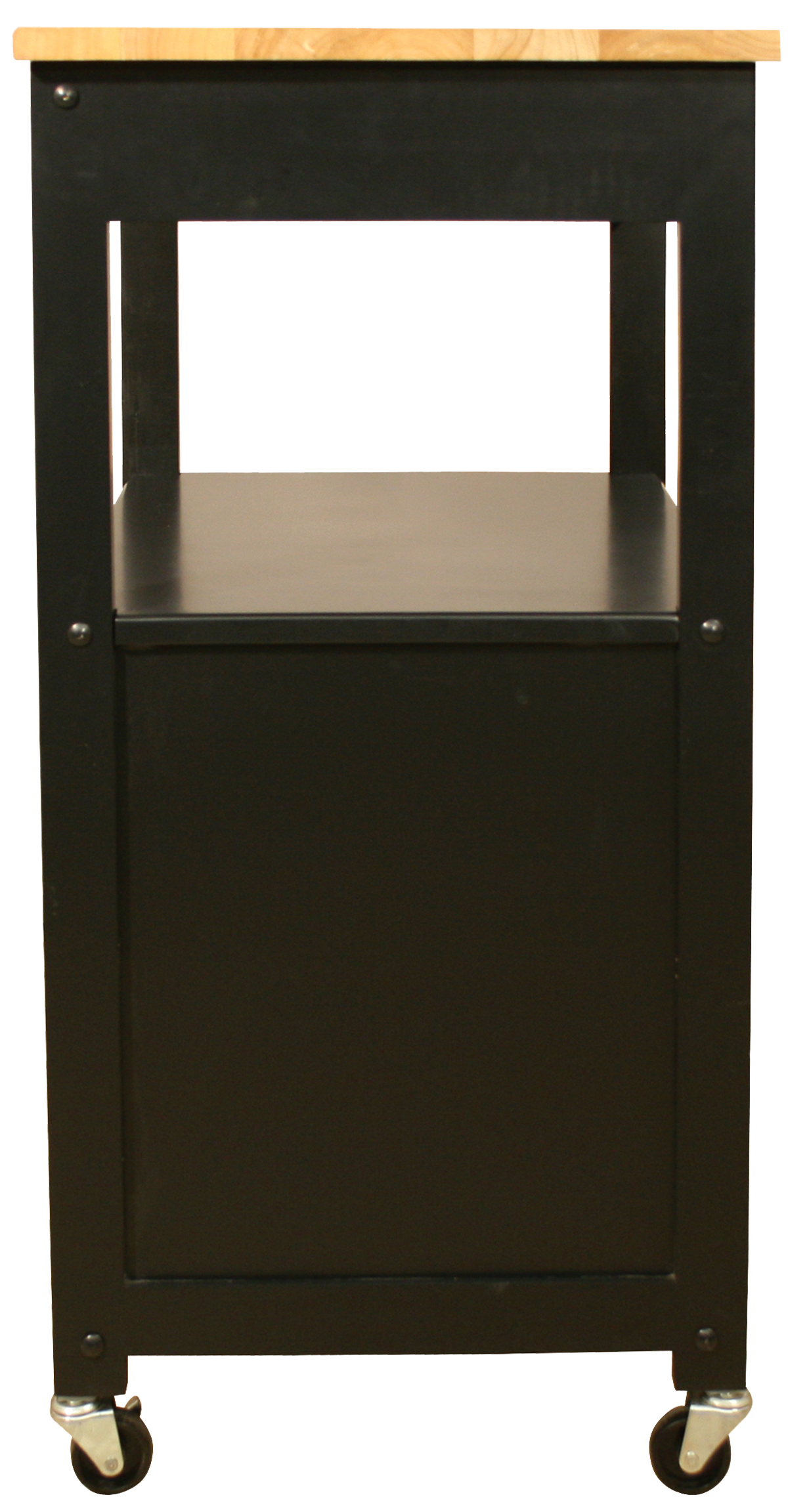 Catskill Black Open-Shelf Kitchen Trolley – 23