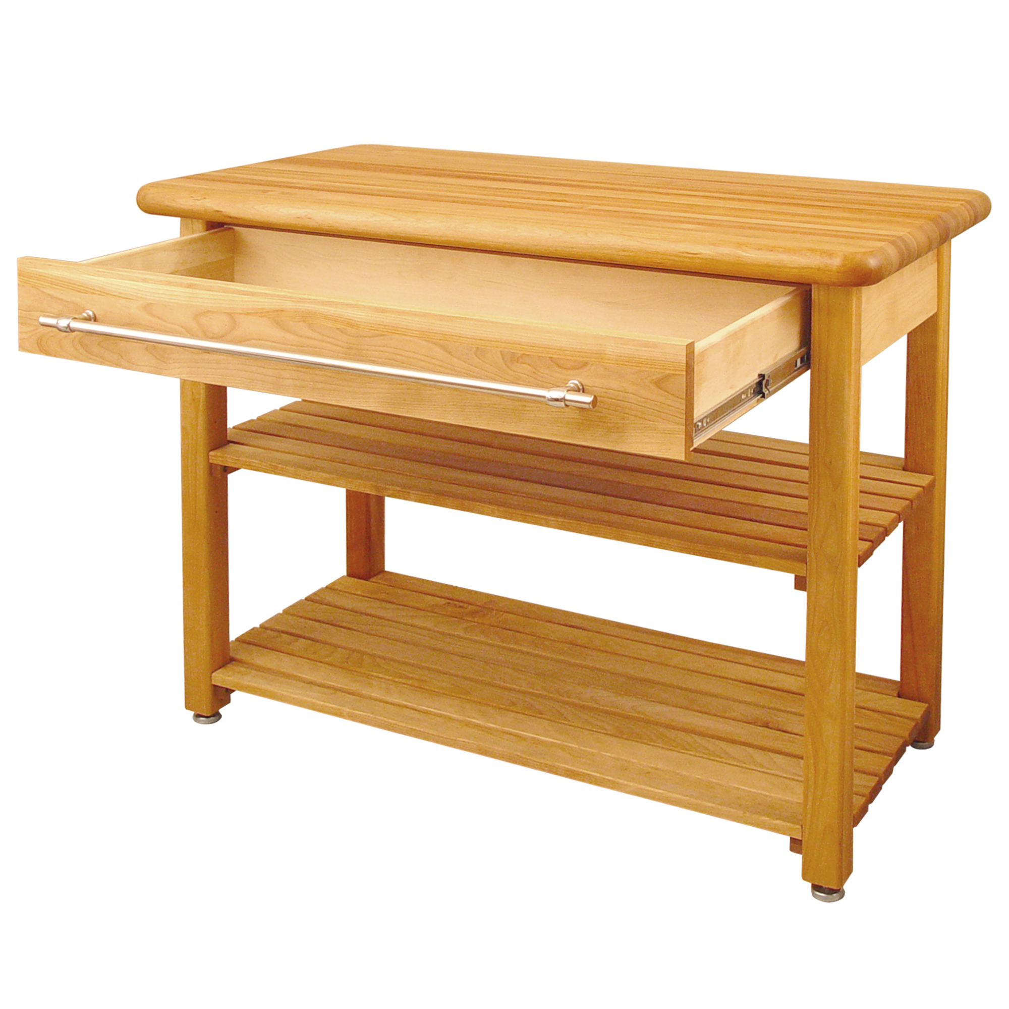 contemporary harvest butcher block table by Catskill