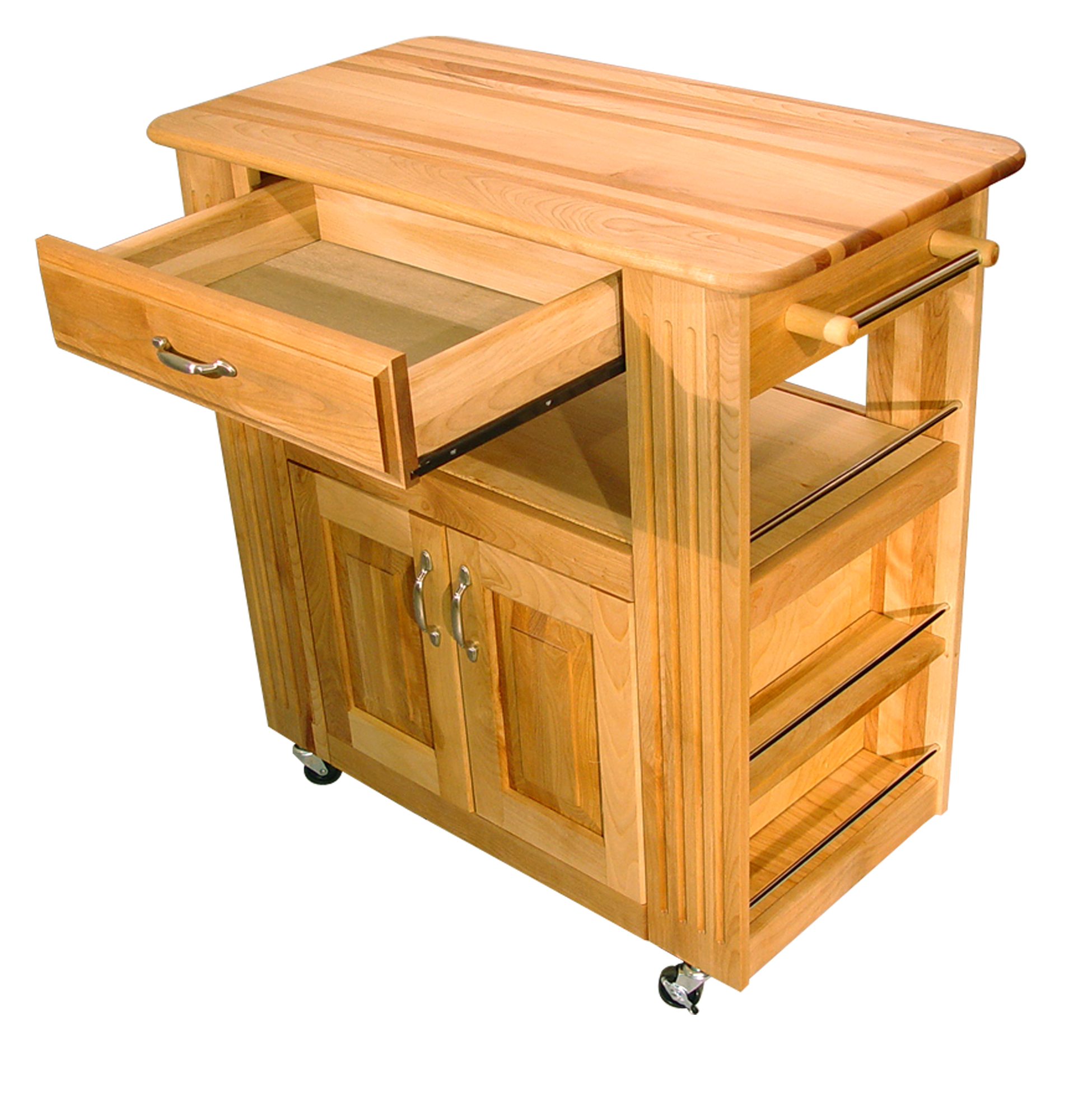 Catskill Heart-of-the-Kitchen Island - Butcher Block Top 34