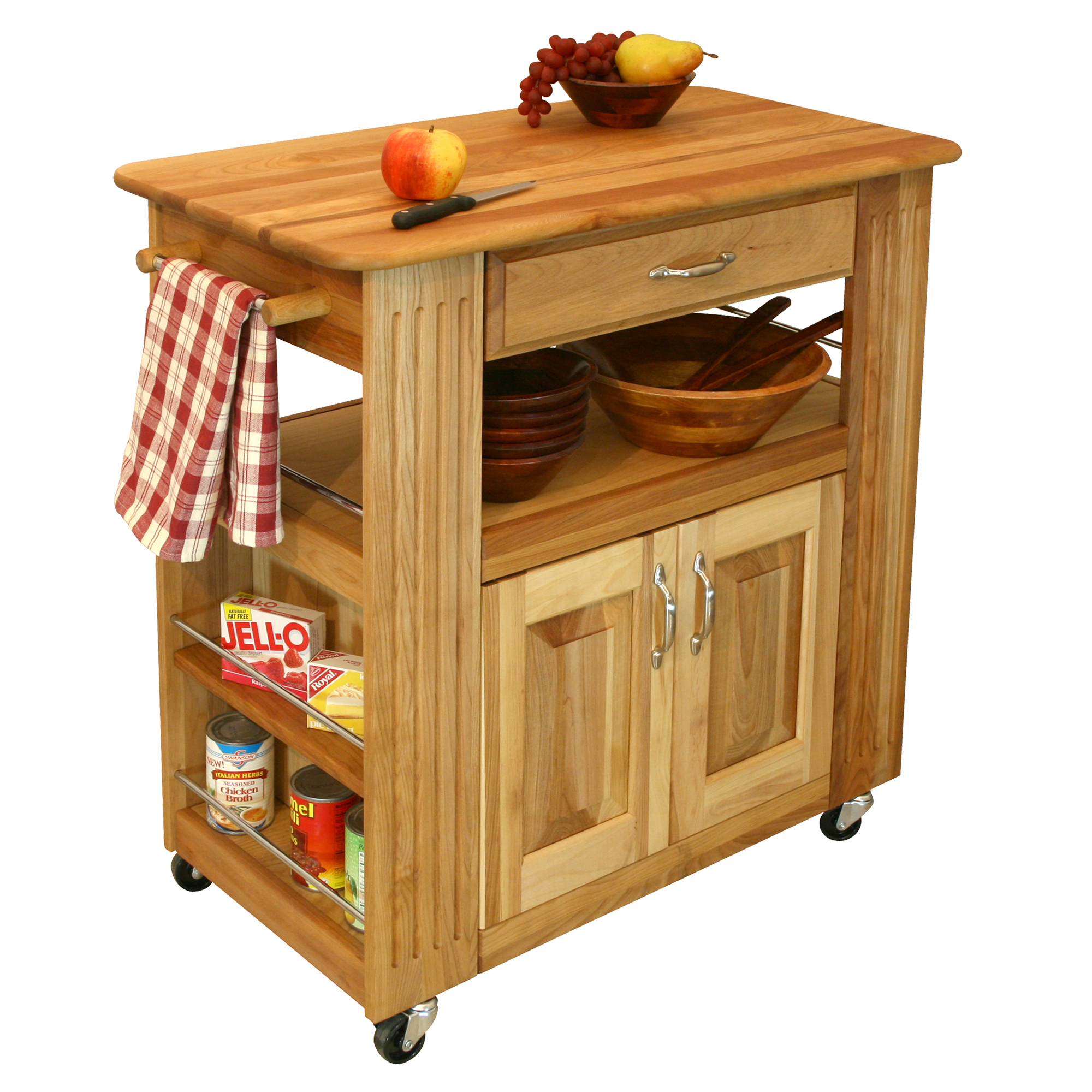 Catskill Butcher Block Heart Of The Kitchen Island
