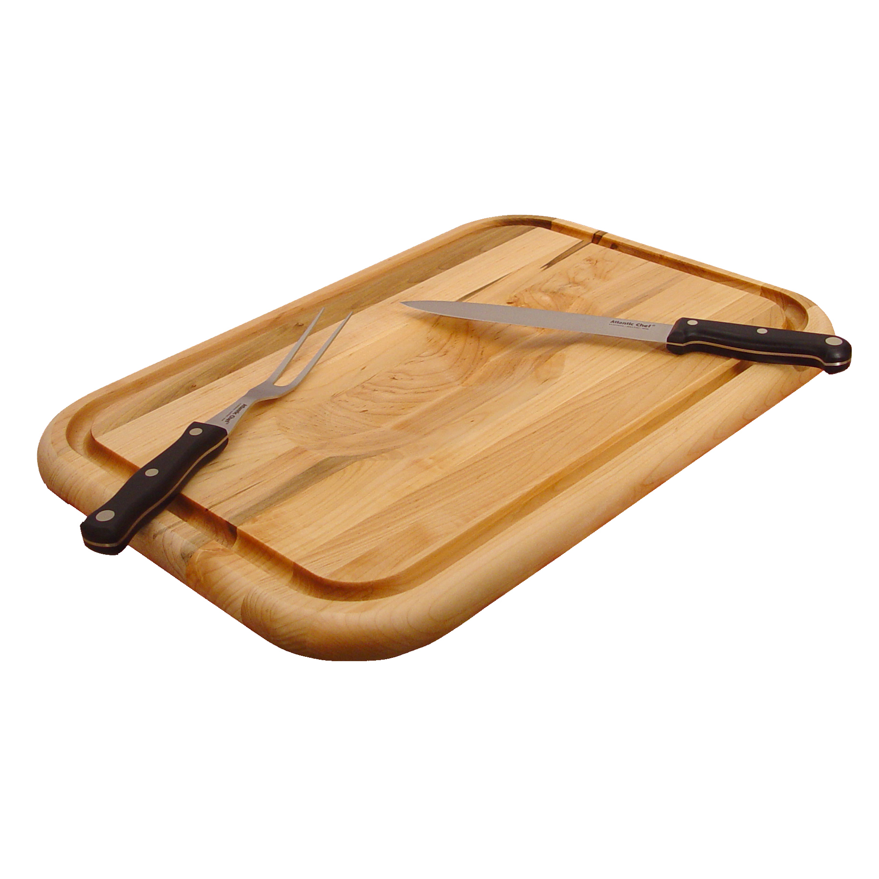 Catskill Grooved Carving Board with Trench & Wedge for Meat - 20
