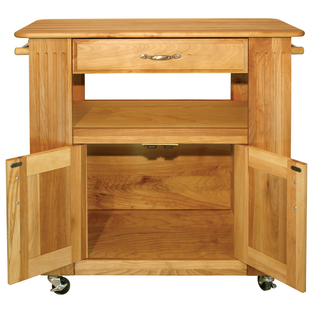 Catskill Heart Of The Kitchen Island   Butcher Block Top 34