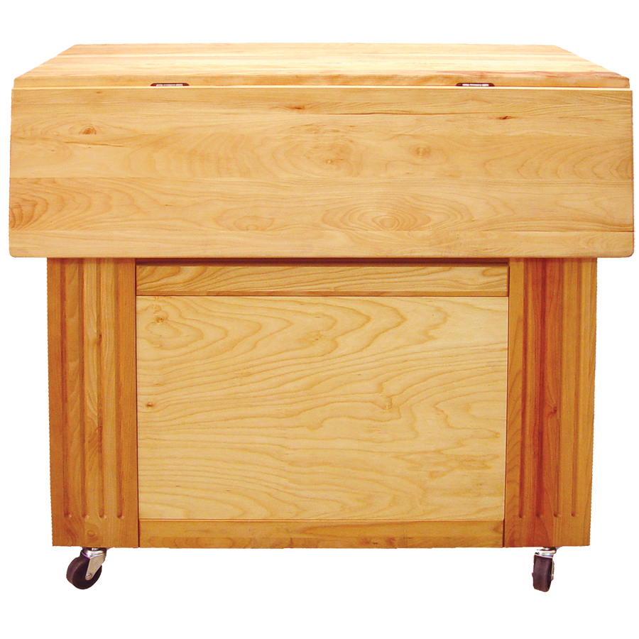 "Catskill's Heart-of-the-Kitchen Island with a Drop Leaf - 34"" x 27.5"""