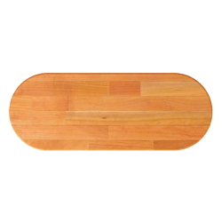 John Boos Oval Blended Cherry Butcher Block Table Tops & Bases