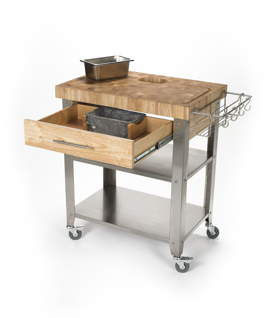 30 x 20 Stainless Steel Kitchen Cart