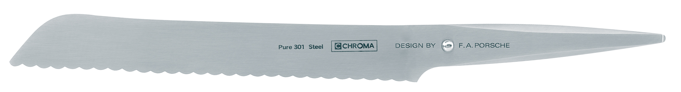 Chroma Type 301 Bread Knife - 8-1/2