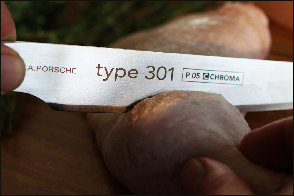 Chroma Type 301 Carving Knife - Perfectly Balanced, Razor-Sharp 8