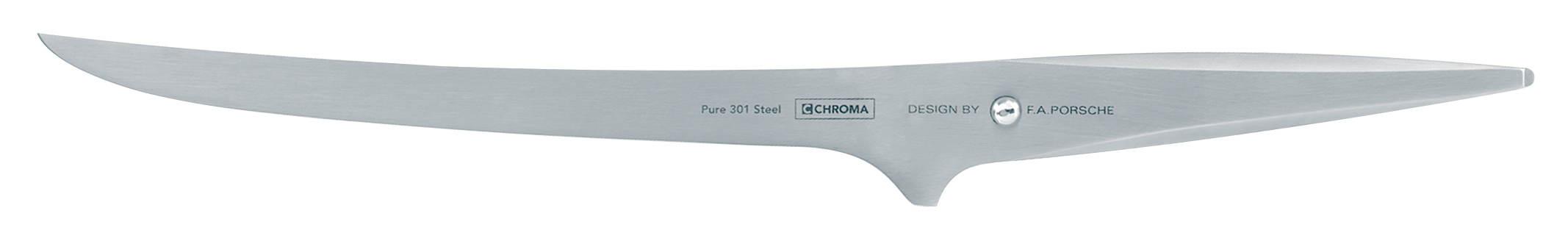 Chroma Type 301 Filleting Knife - Thin, Strong & Flexible 7-3/4