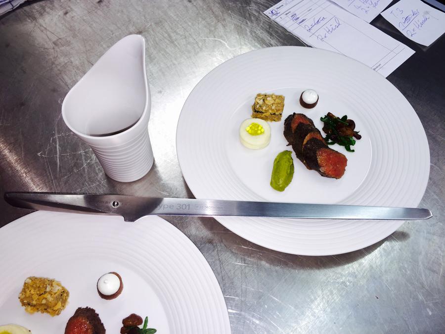 Chroma Type 301 Ham & Salmon Slicer - Japanese 301 Steel 12