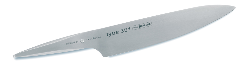 Chroma Type 301 Chef's Knife - Razor-Sharp Blades 5-3/4