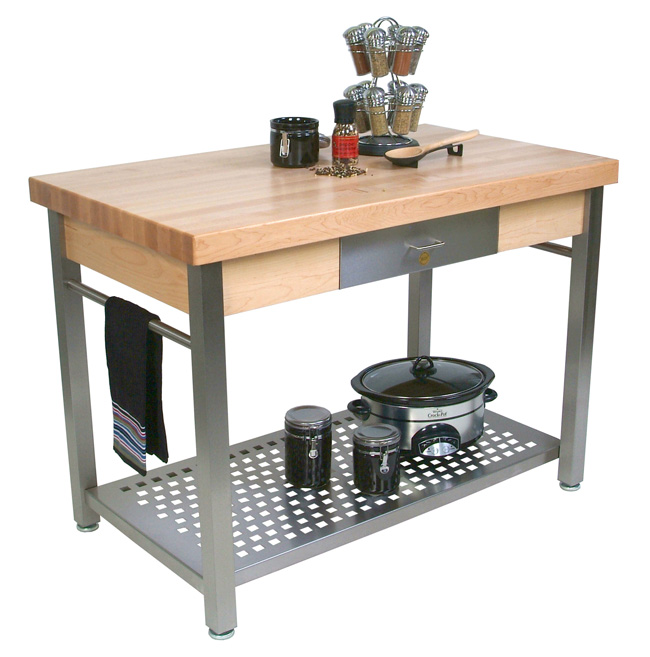 John Boos Cucina Grande Kitchen Island Table CUCG20