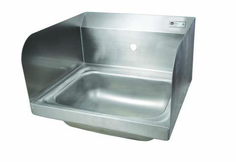 John Boos Wall-Mounted Stainless Steel Hand Sink - 14