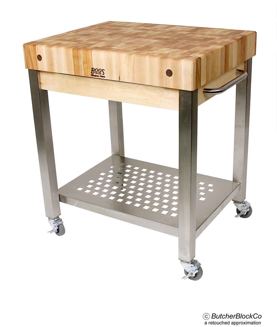 End-Grain Cucina Technica Cart - 4