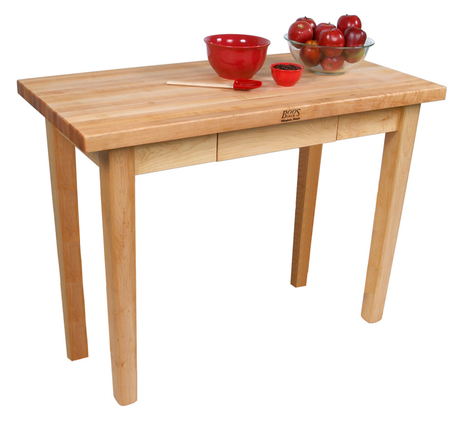 Butchers Block Kitchen Table: John Boos Butcher Block Kitchen Table