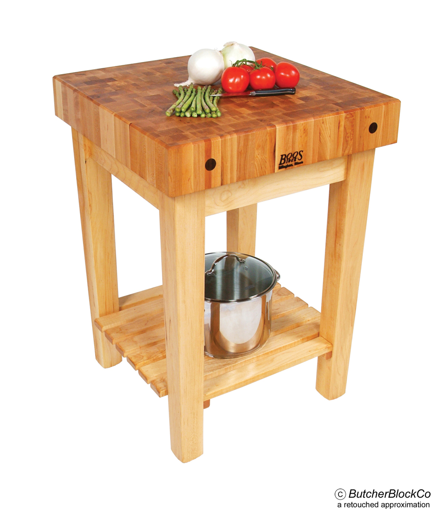 Maple Butcher Block Table