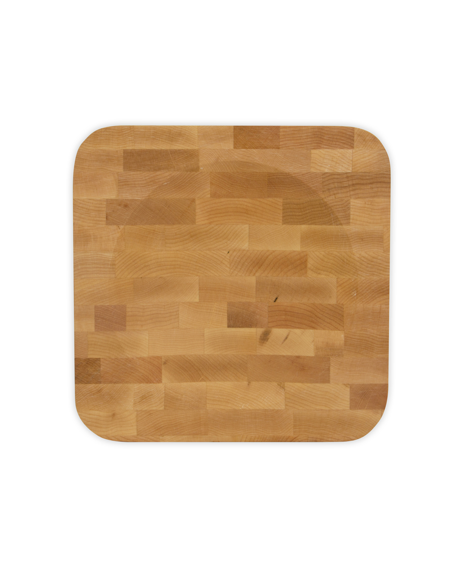 John Boos Maple Herb Board - End-Grain Butcher Block, 10
