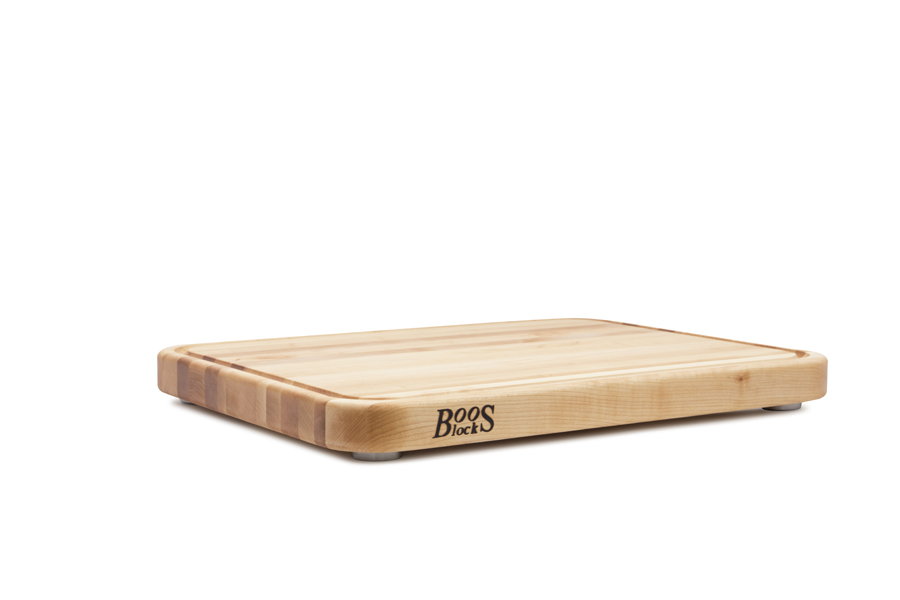 Boos Tenmoku cutting board with juice groove