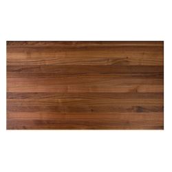 "John Boos 30"" W Rectangle Walnut Edge Grain Butcher Block Table Top"