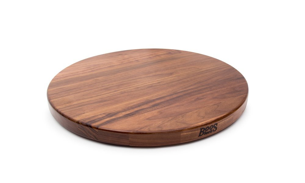 John Boos Round Lazy Susan Made of Walnut - Two Sizes