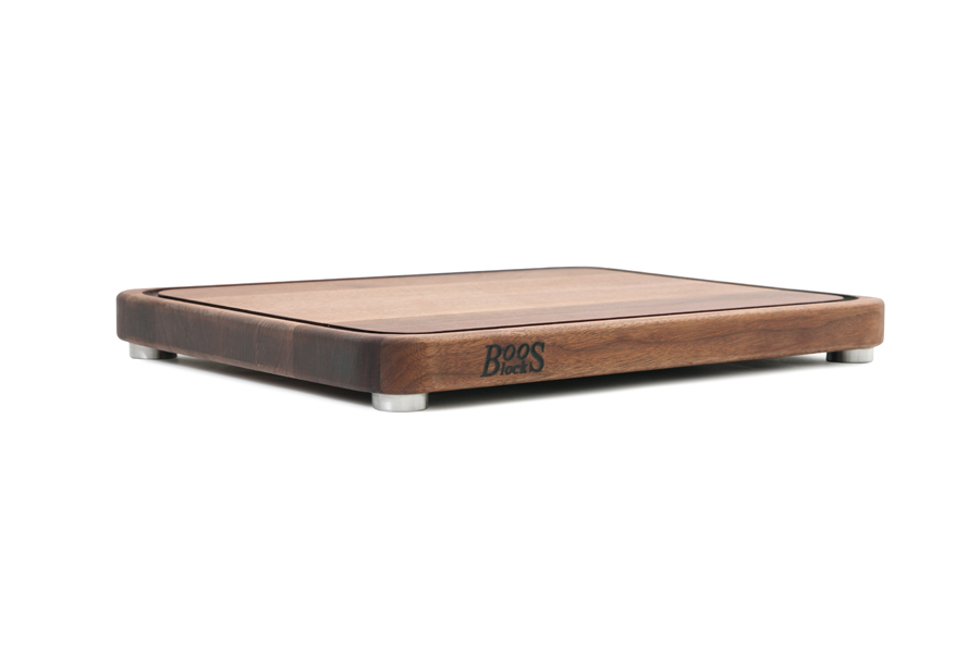 John Boos grooved walnut tenmoku cutting board