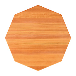 John Boos Octagonal Cherry Edge-Grain Dining Table Tops & Bases