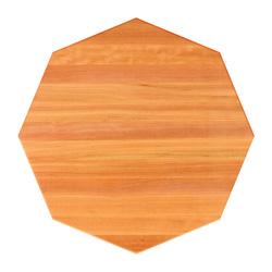 john boos cherry edge grain octagonal dining table top