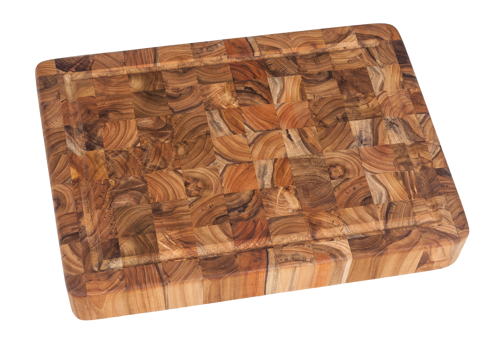 Proteak End-Grain Teak Chopping Block w/ Juice Canal - 20
