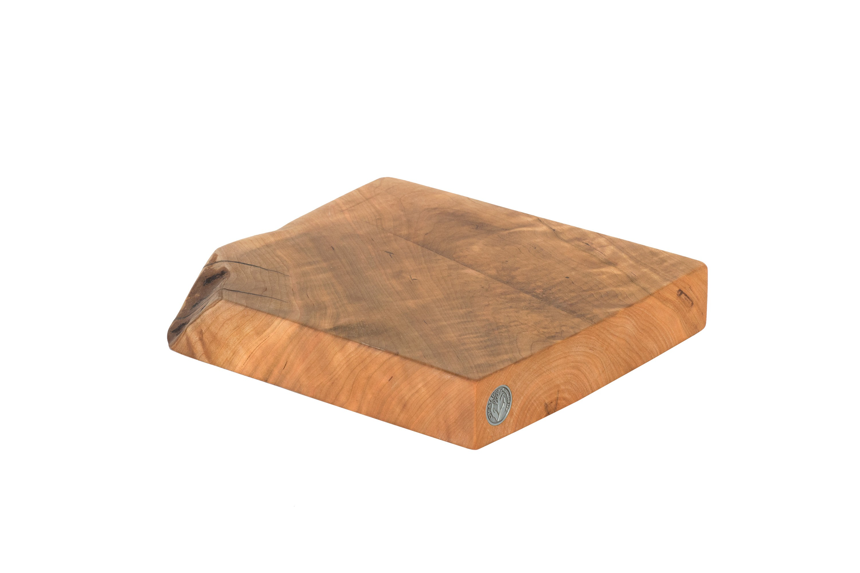 Live Edge Cherry Cutting Board #065- 11