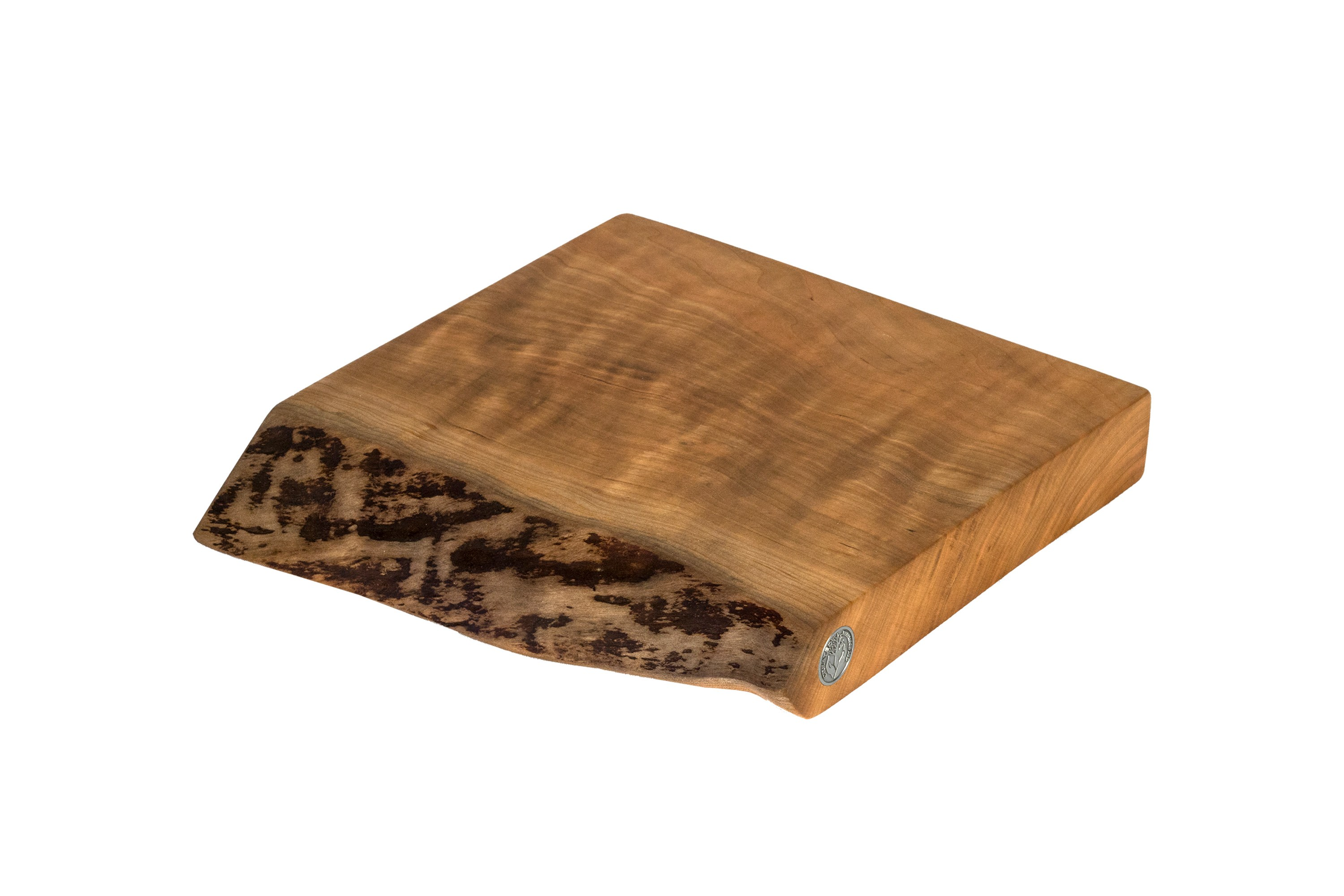 Live Edge Cherry Cutting Board #068- 11.75