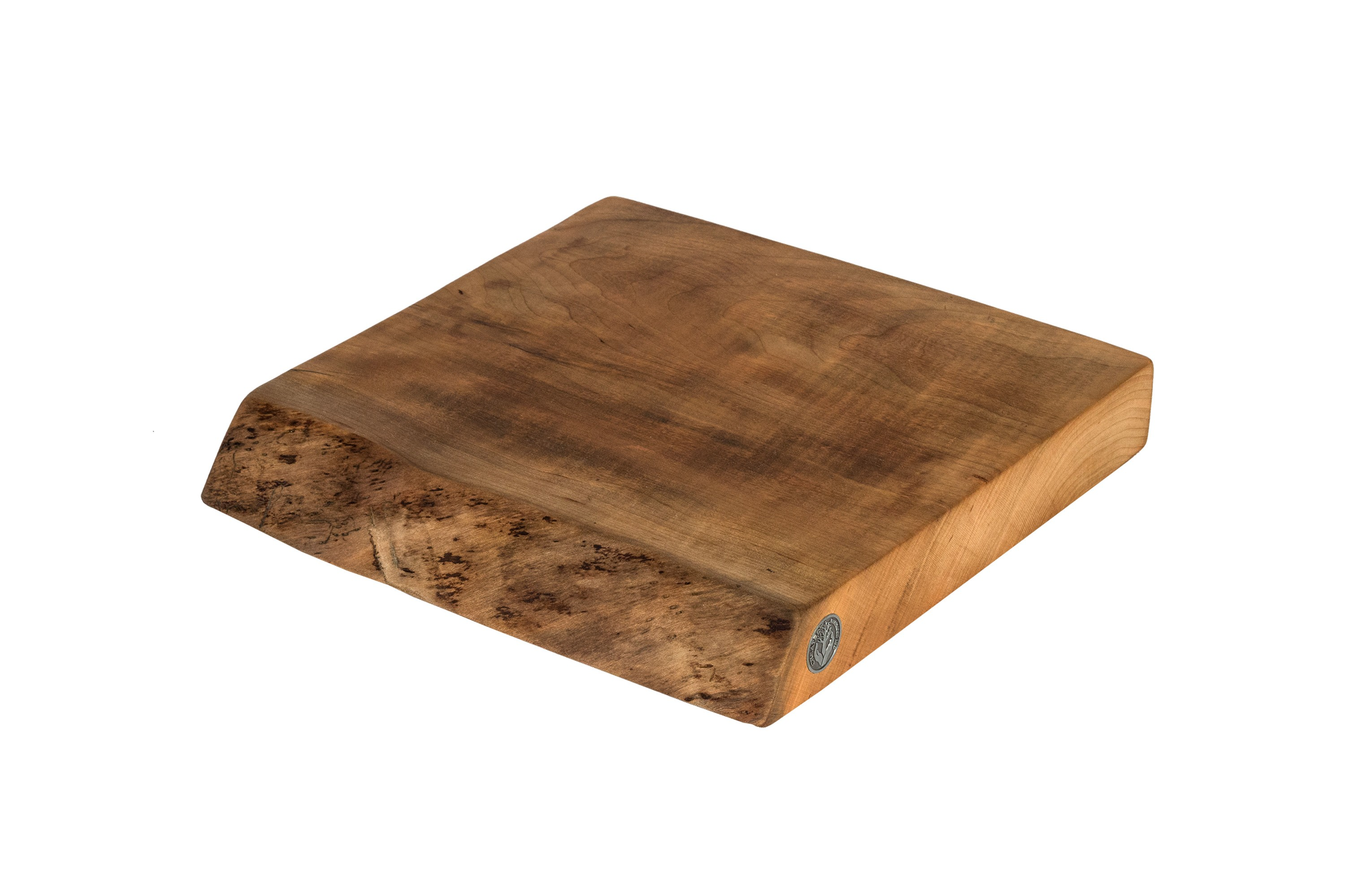Live Edge Cherry Cutting Board #069- 12