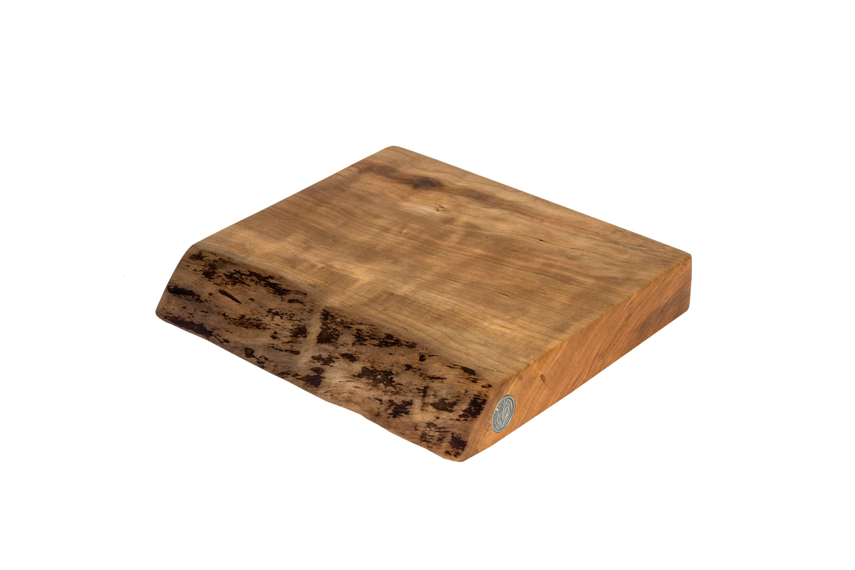 Live Edge Cherry Cutting Board #070- 11.75