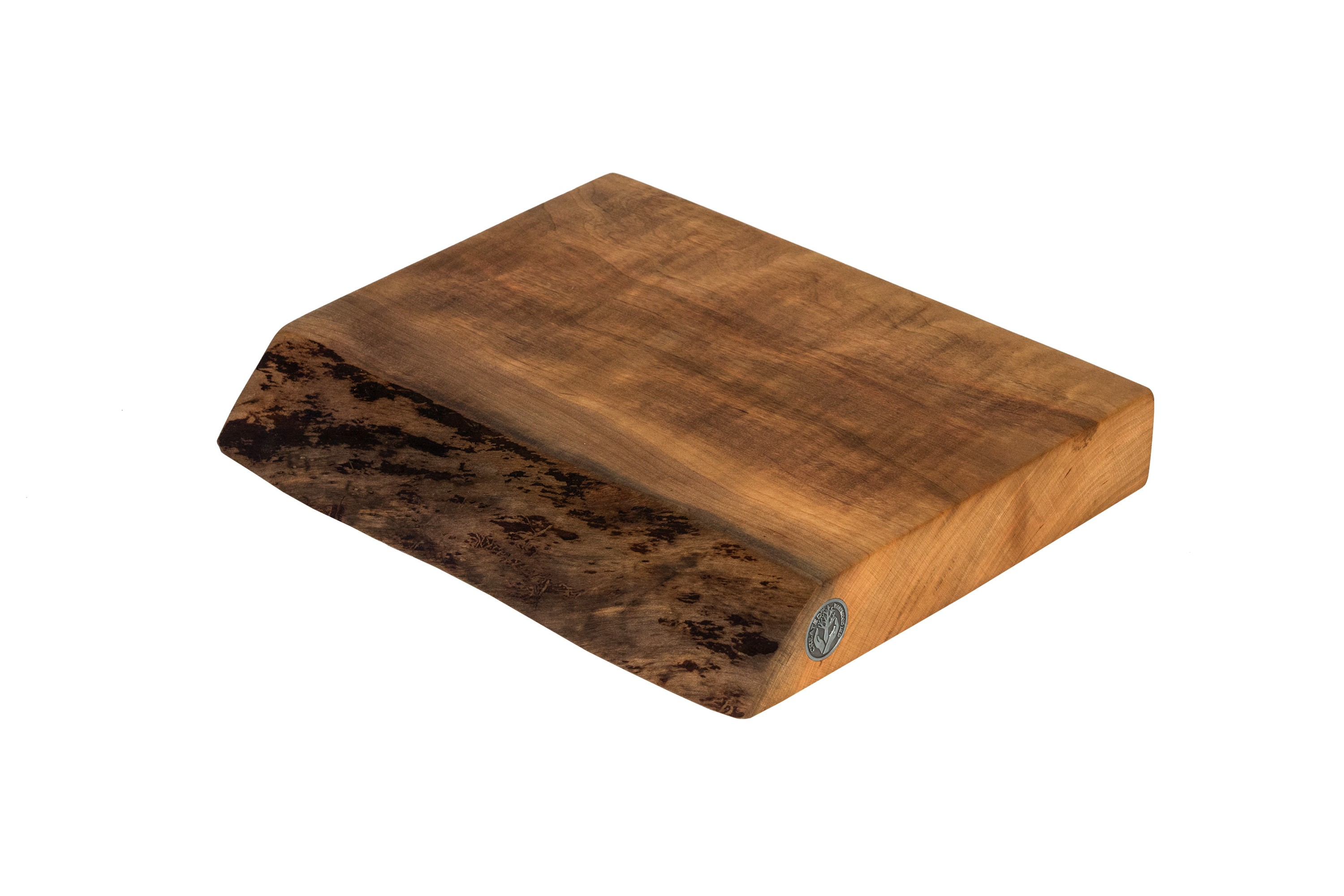 Live Edge Cherry Cutting Board #079- 12