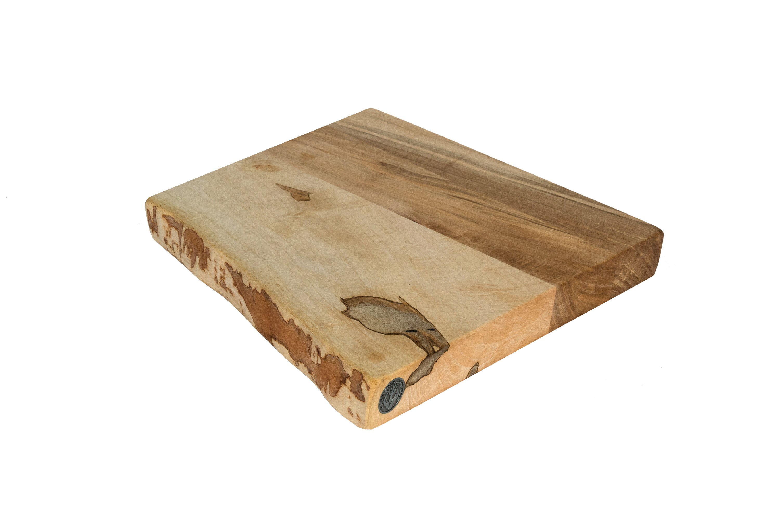Live Edge Maple Cutting Board #072 - 10