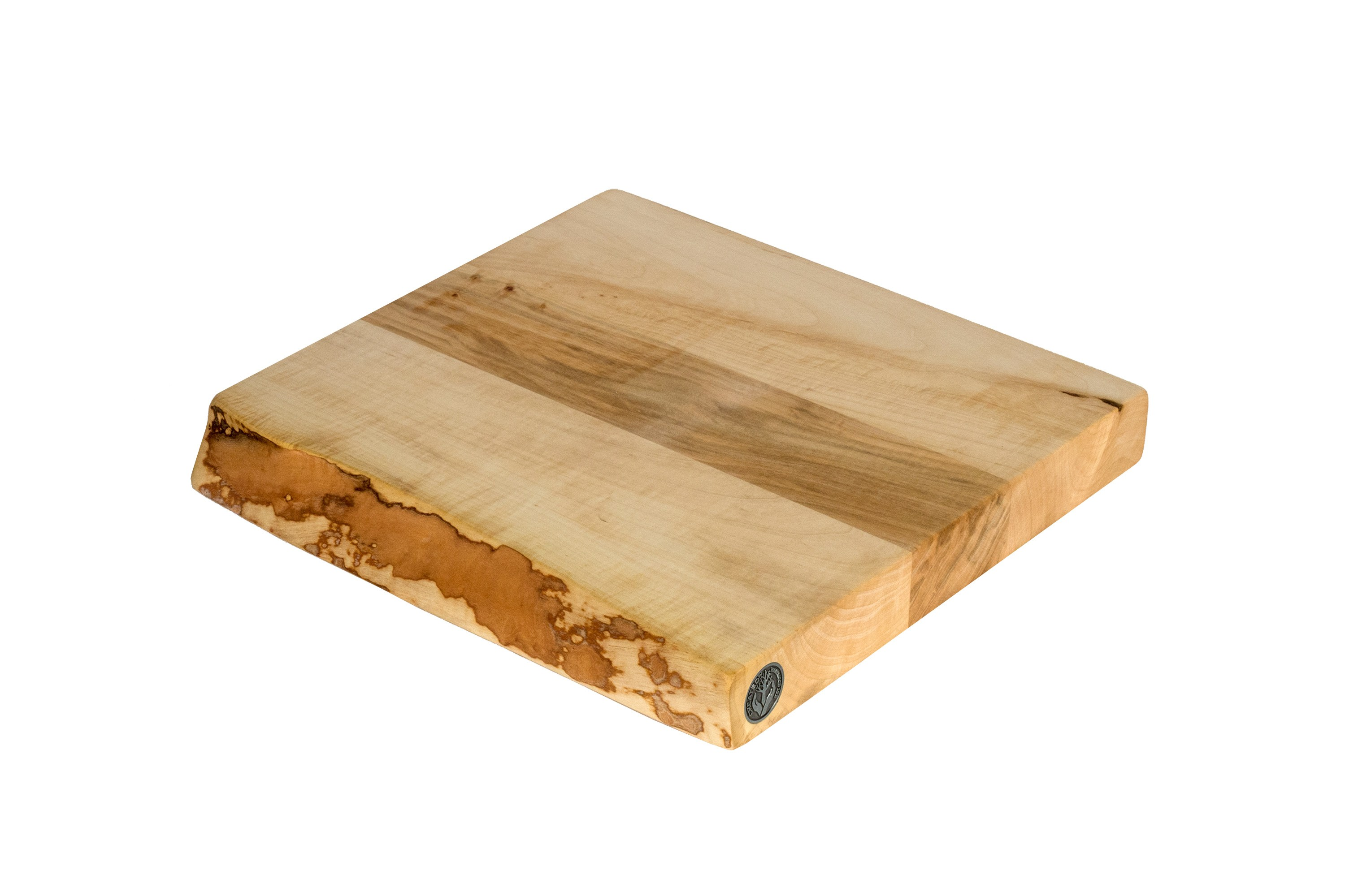 Live Edge Maple Cutting Board #076 - 12