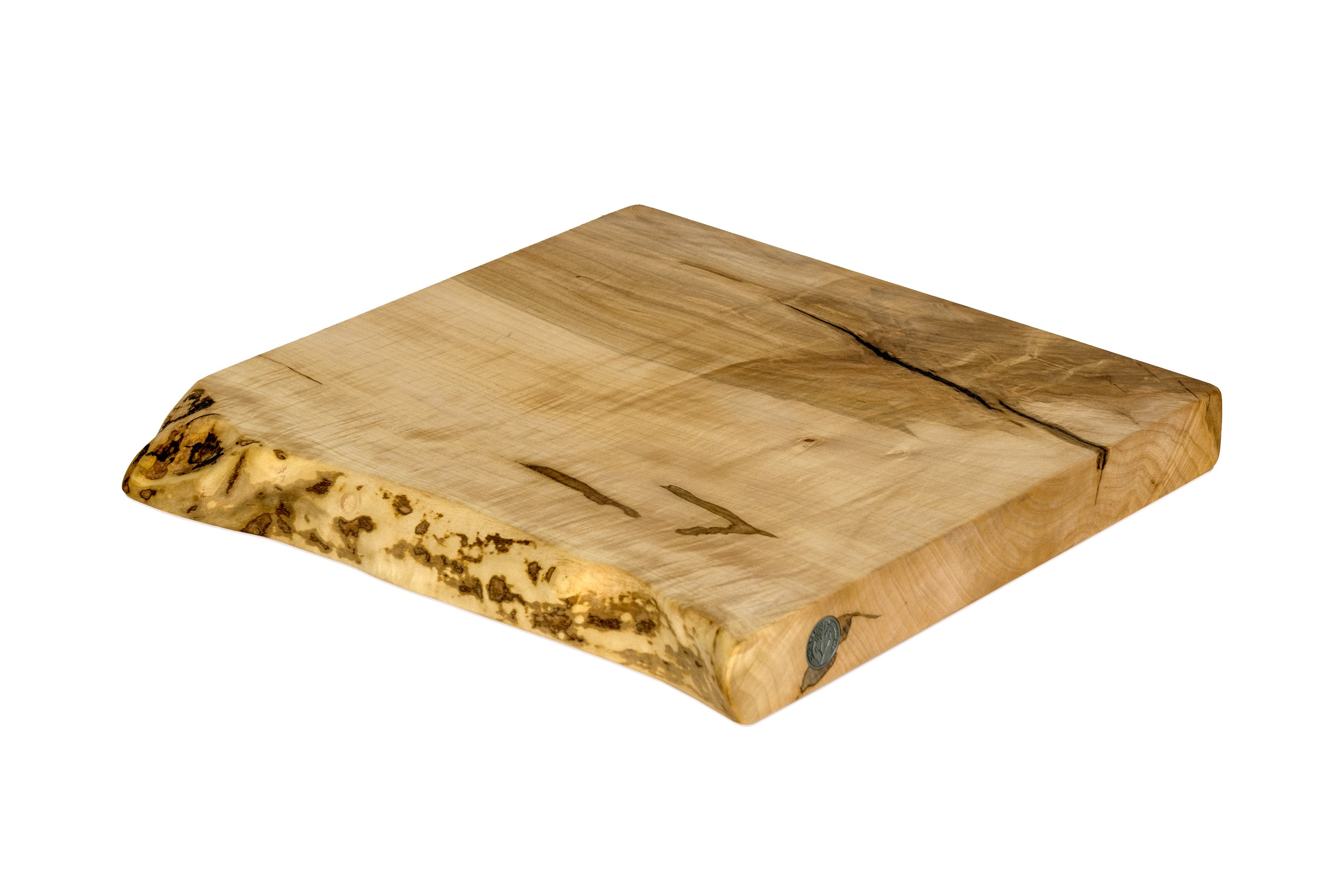 Live Edge Maple Cutting Board #107- 15.5