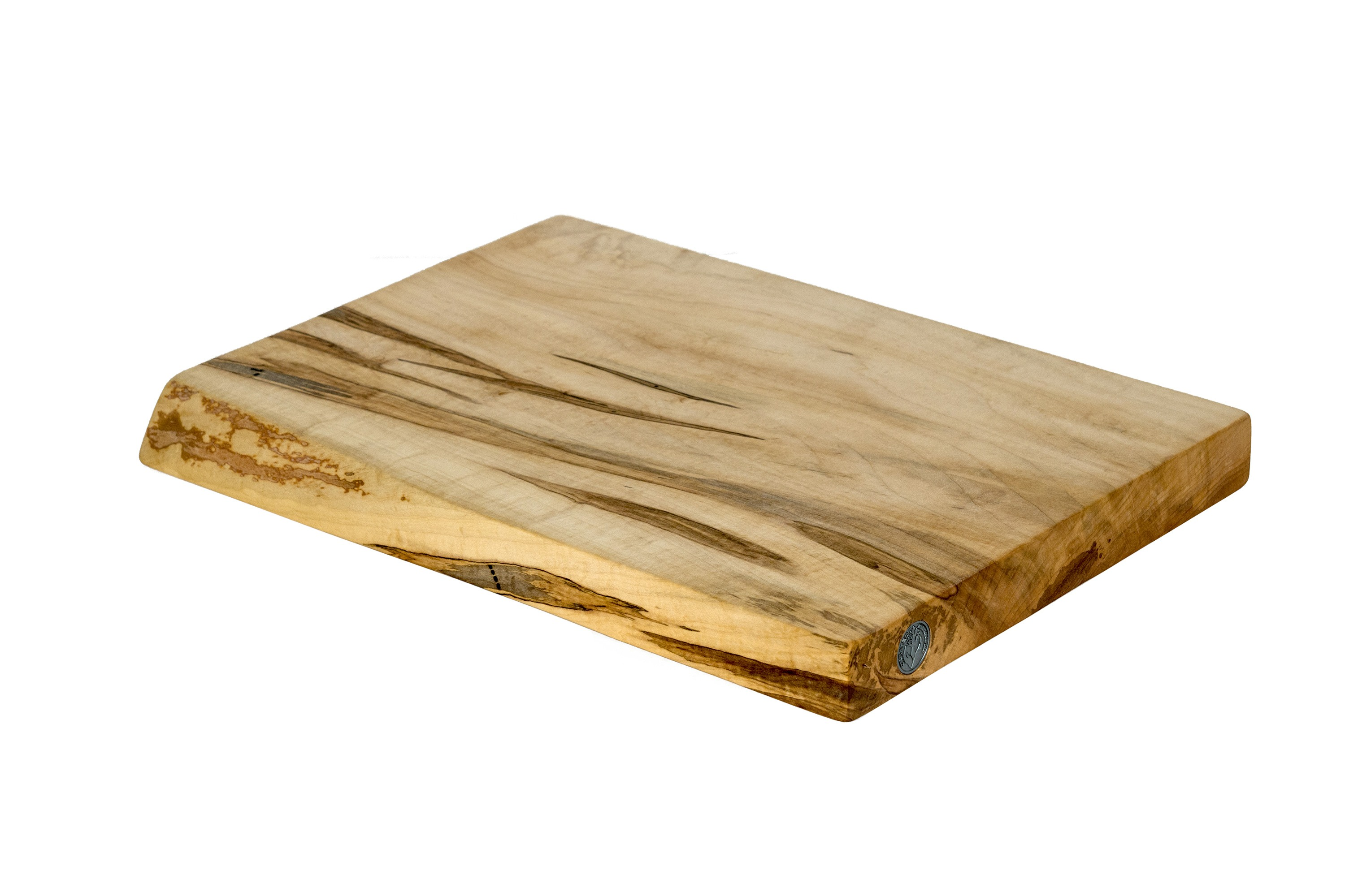 Live Edge Maple Cutting Board #113- 18