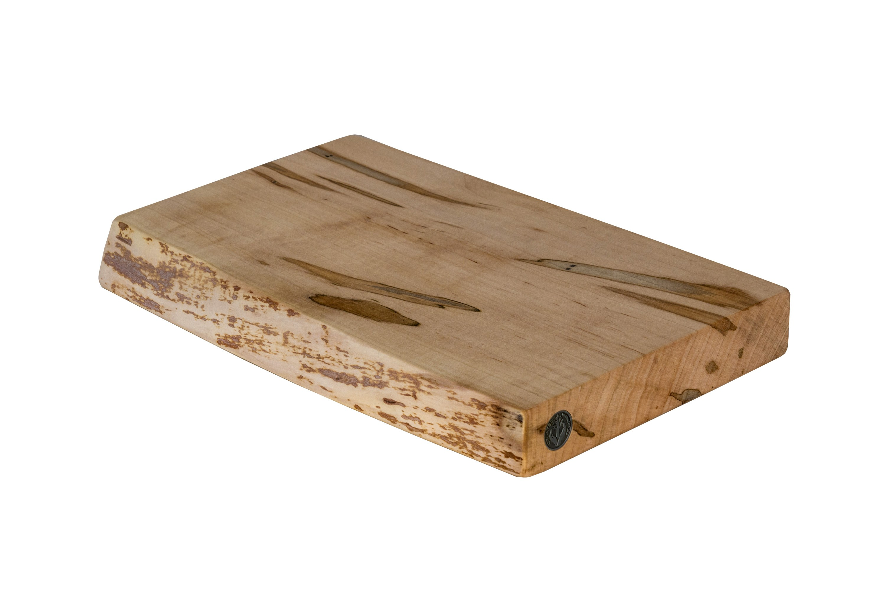 Live Edge Maple Cutting Board #130- 16