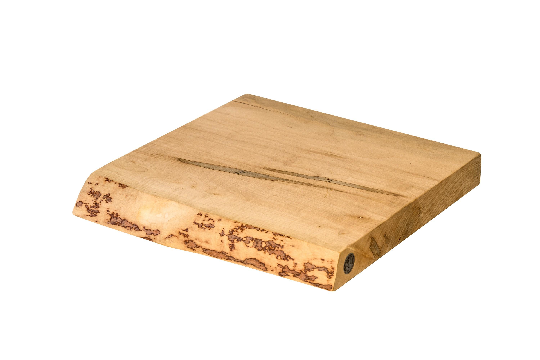 Live Edge Maple Cutting Board #153- 15