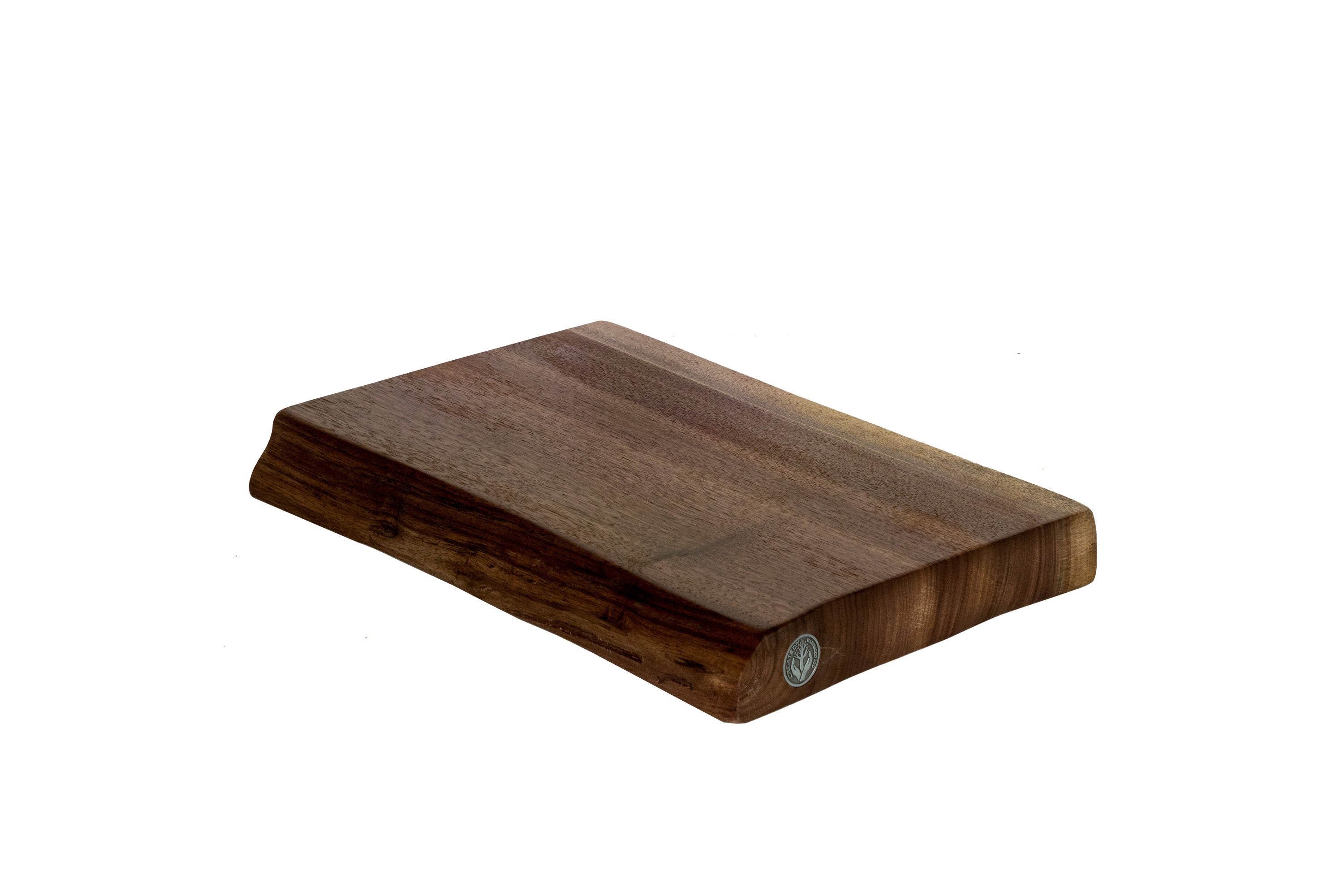 Live Edge Walnut Cutting Board #009 - 14.5