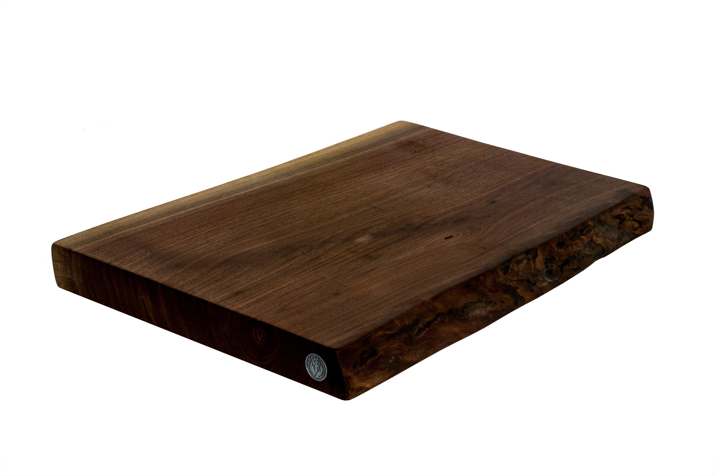 Live Edge Walnut Cutting Board #017 - 20