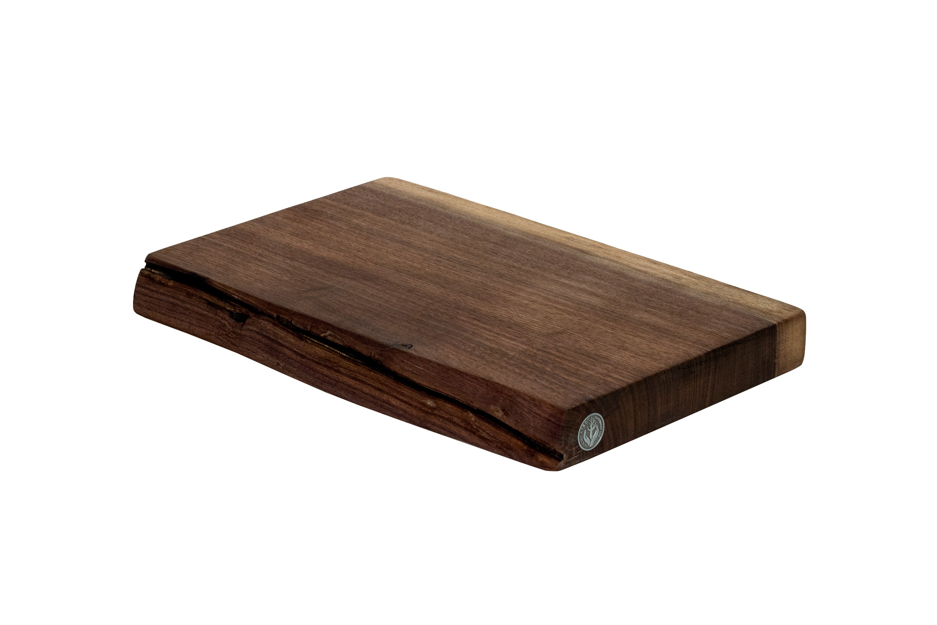 Live Edge Walnut Cutting Board #027 - 16.5