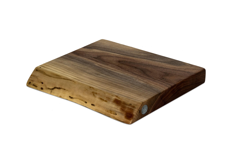 Live Edge Walnut Cutting Board #115 - 14.5