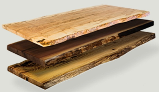 buy live-edge wood slab