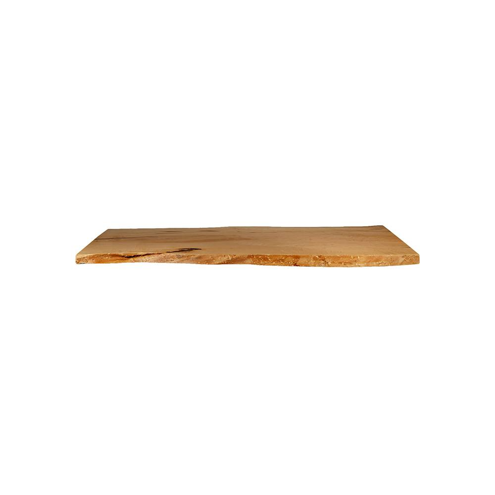 Maple Live Edge Table Top #107 - 72