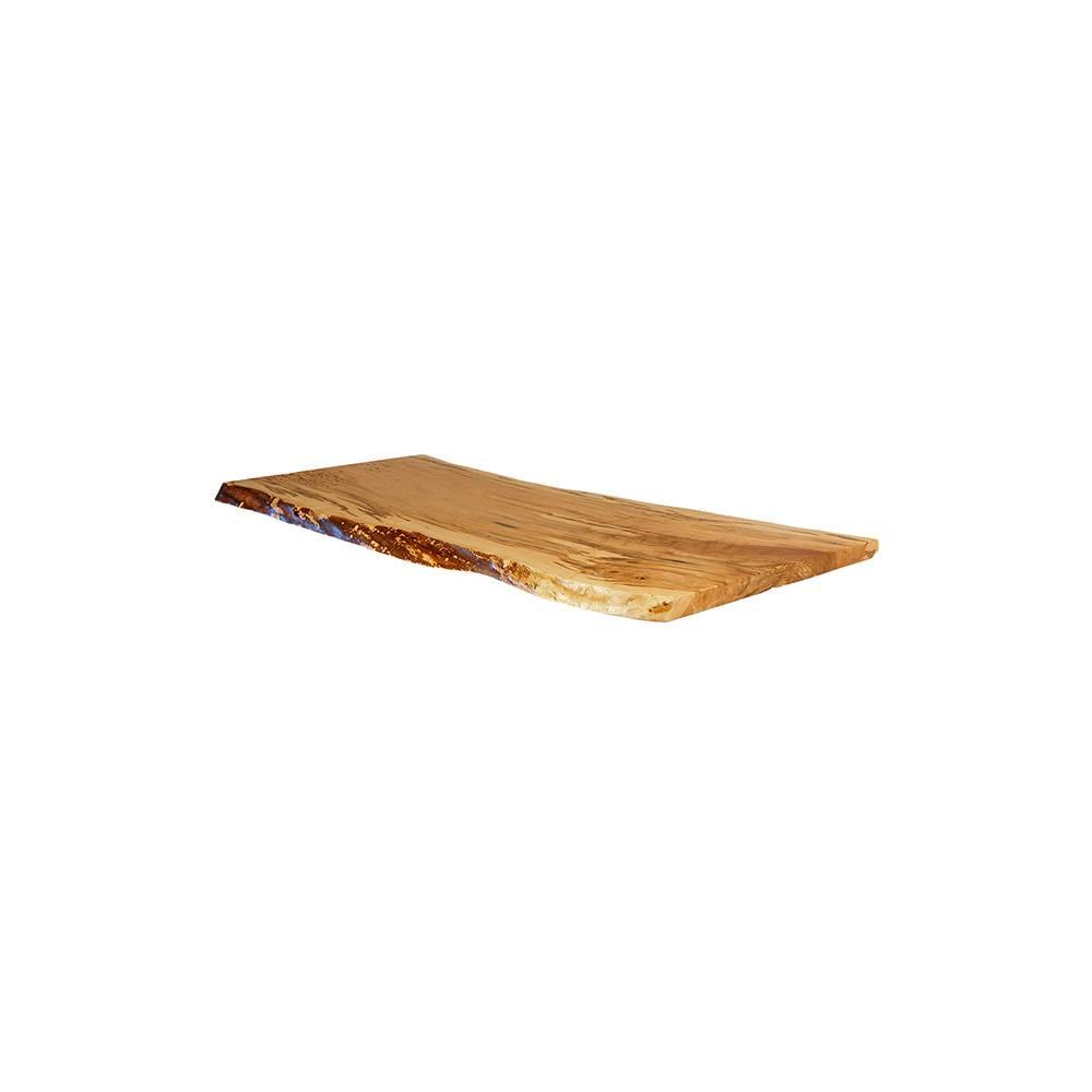 Maple Live Edge Table Top #152 - 66