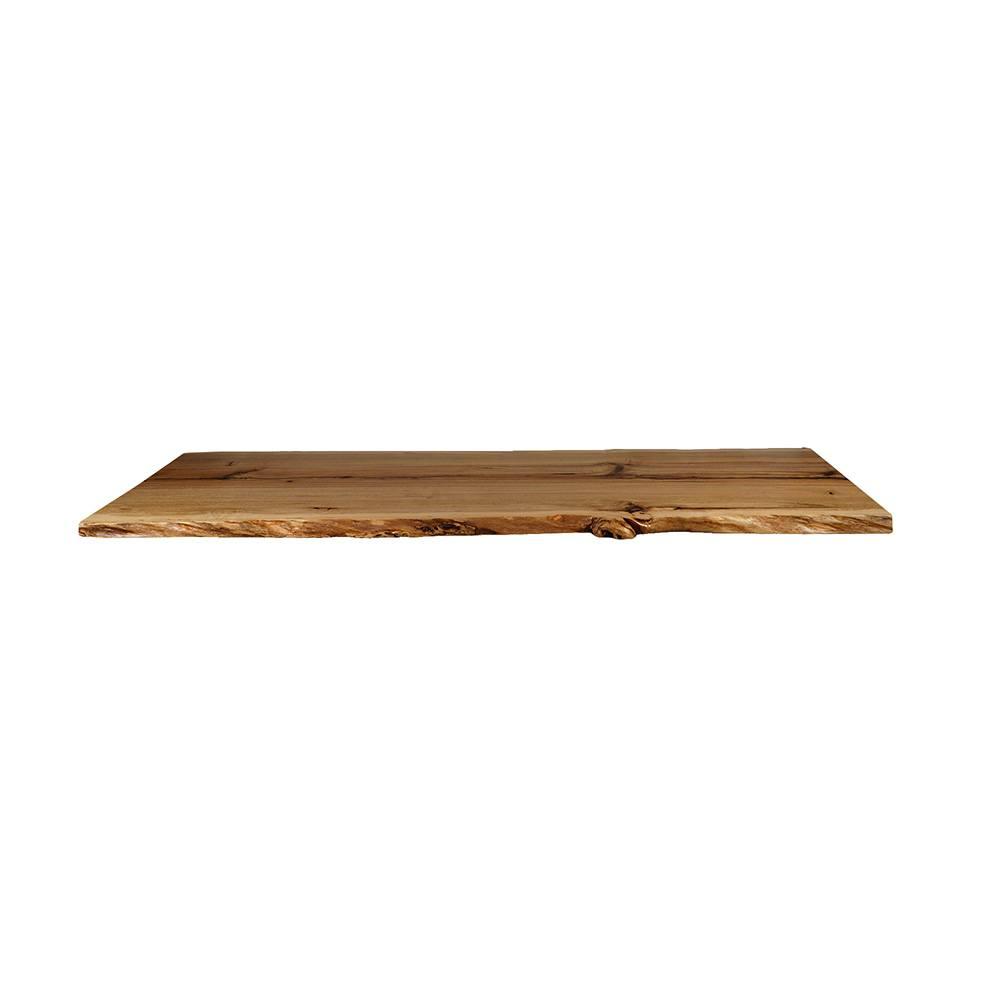 Pin Oak Live Edge Table Top #110 - 84