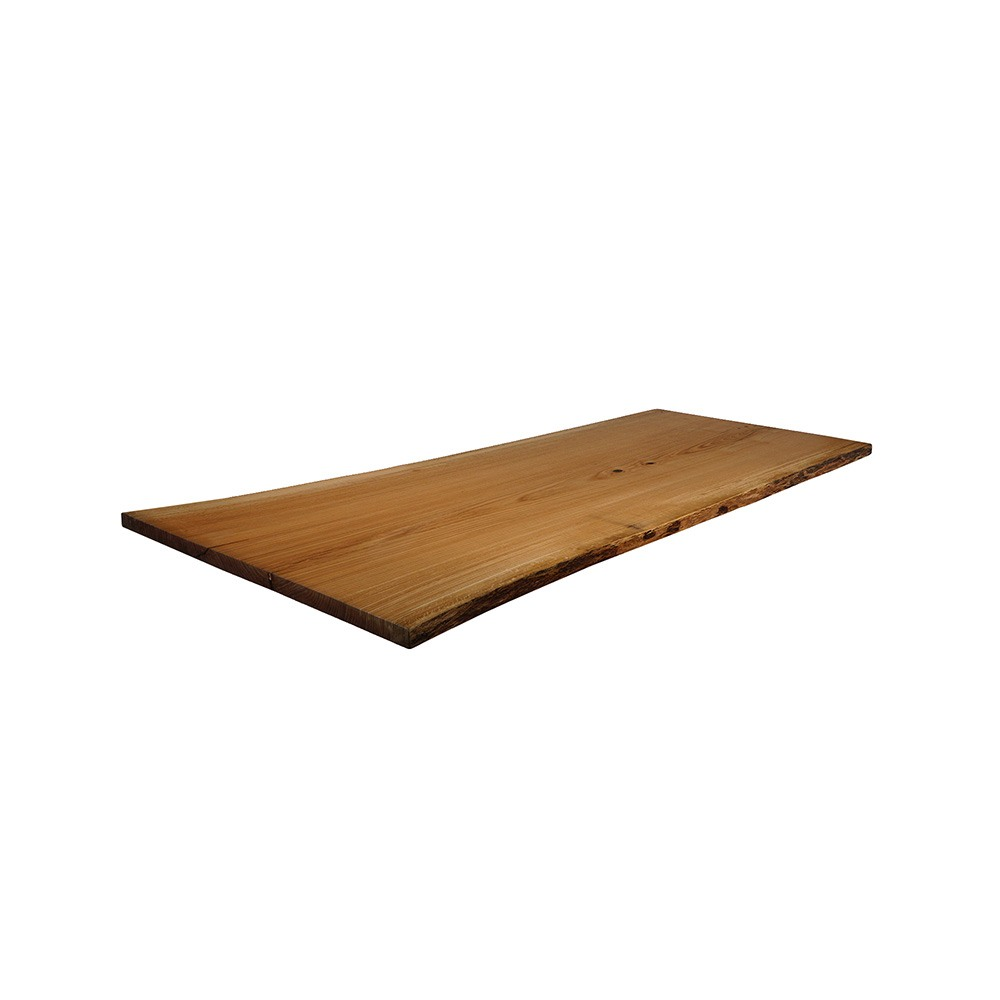 Pin Oak Live Edge Table Top #134 - 84