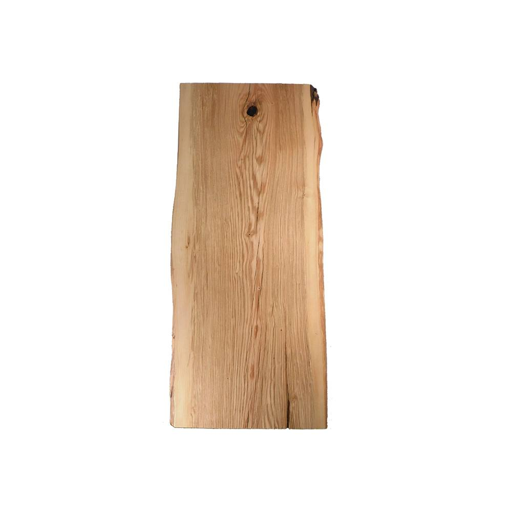 Pin Oak Live Edge Table Top #92 - 72