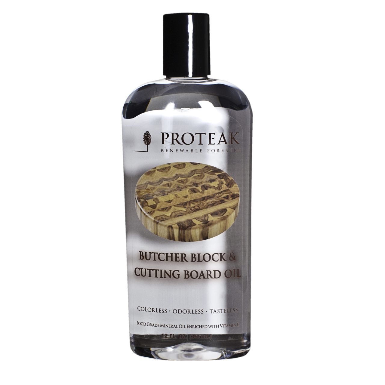 Proteak Butcher Block & Cutting Board Oil - Three 12 oz. bottles