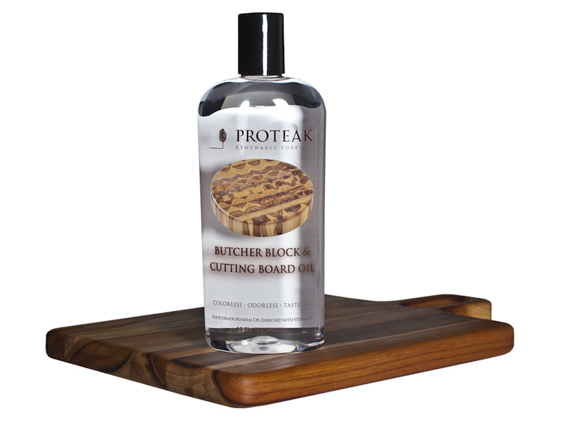 Proteak Butcher Block & Cutting Board Oil - Three 12 oz. bottles